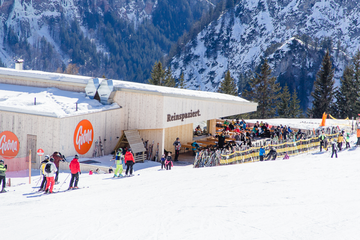 BERGRESTAURANTS IN BRAND, VORARLBERG
