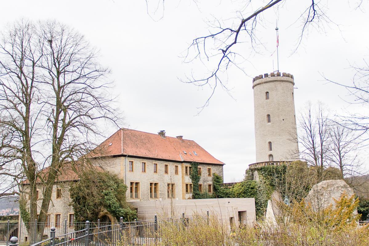 Die Sparrenburg in Bielefeld