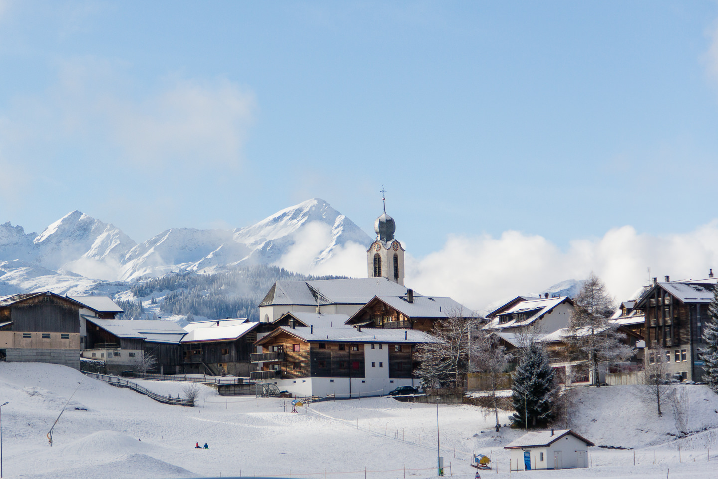 Winterurlaub in Brigels