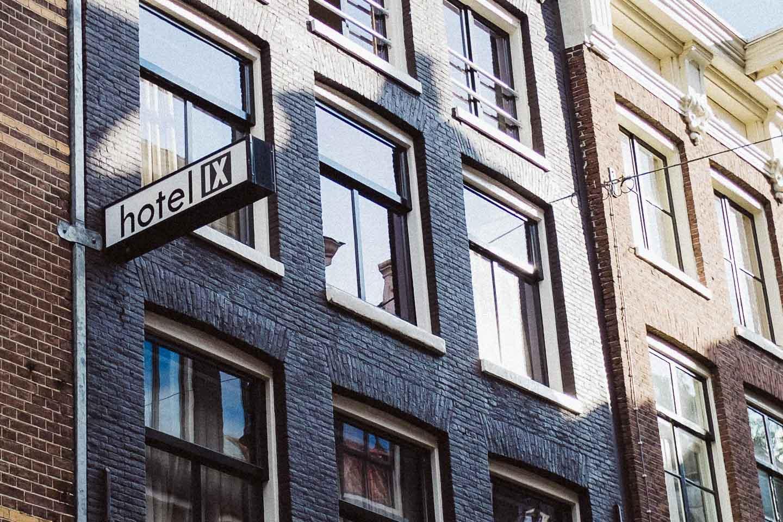 AMSTERDAM: HOTEL IX
