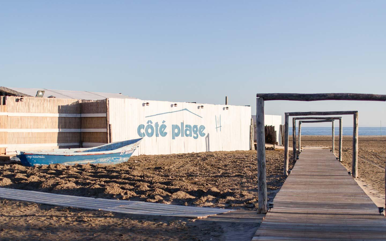 Côté Plage - eine perfekte Strandbar